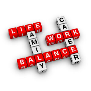 work life family career balance crossword goals
