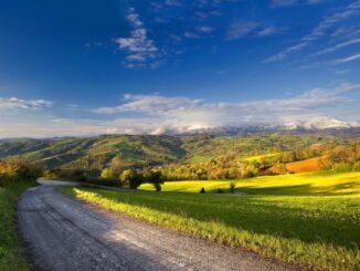 summer landscape road monteagle tennessee