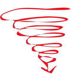 smiling-through-a-downward-spiral