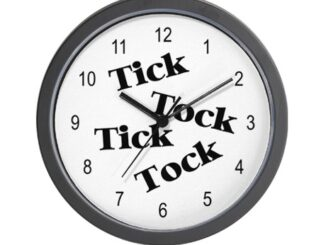 Tick Tock That Annoying Clock On The Wall Sounds It Makes